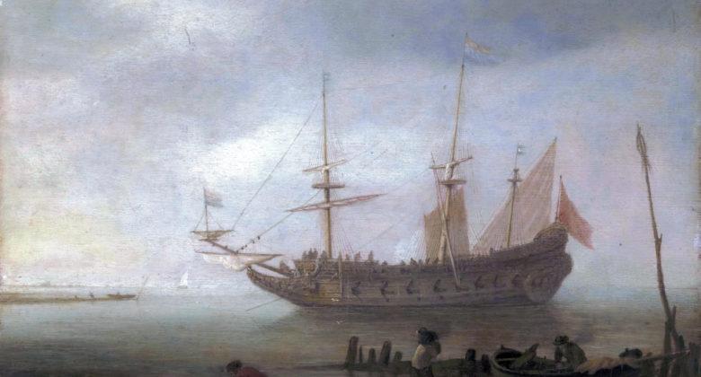 Hans Goderis - Dutch ship at anker, from 1622 until 1638